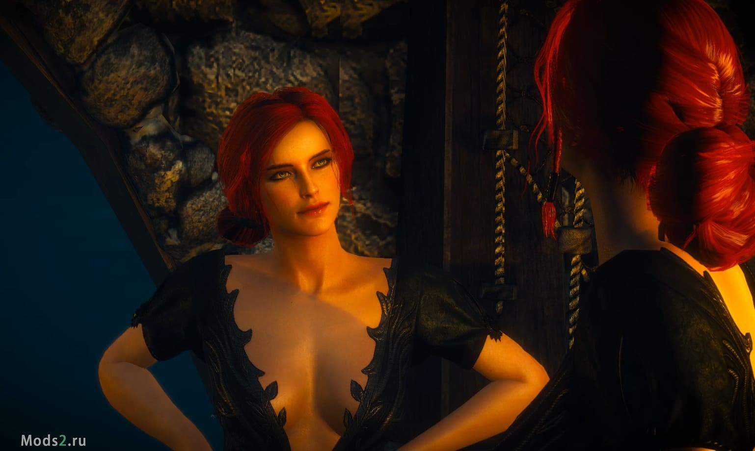 Новая сексуальная одежда для Трисс - Triss DLC Outfit