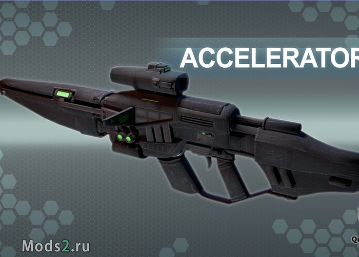 Фото Accelerator Plasma Energy Weapon - плазма оружие