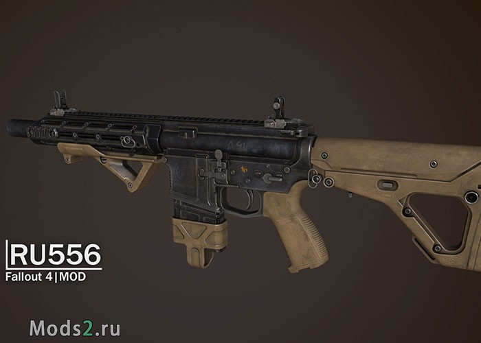Фото Штурмовая винтовка - RU556 Assault rifle