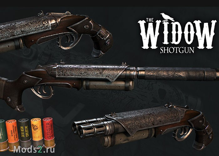 Фото Дробовик Вдова - The Widow Shotgun