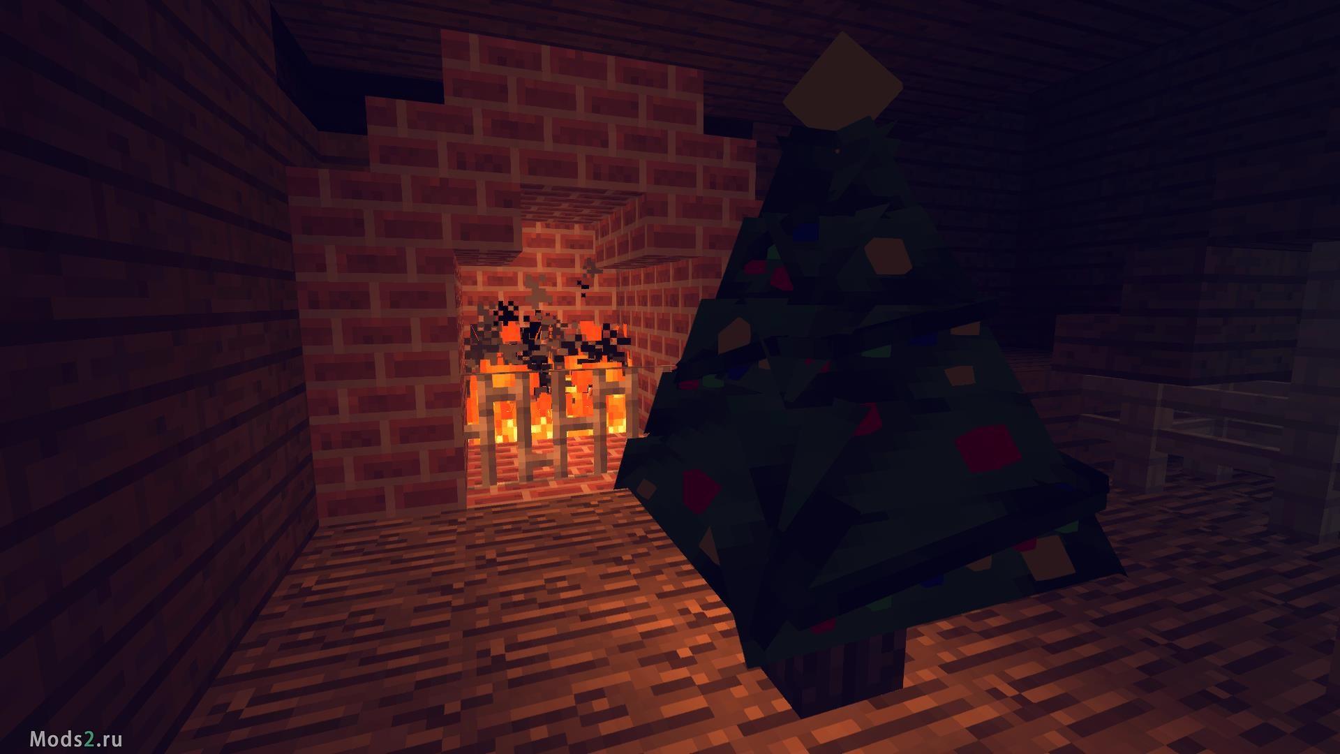 Новогодняя Ёлка для дома - Decoratable Christmas Trees Mod 1.12.2 ... 631dacef17b