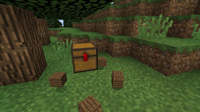 Сундук ловушка TrapCraft мод