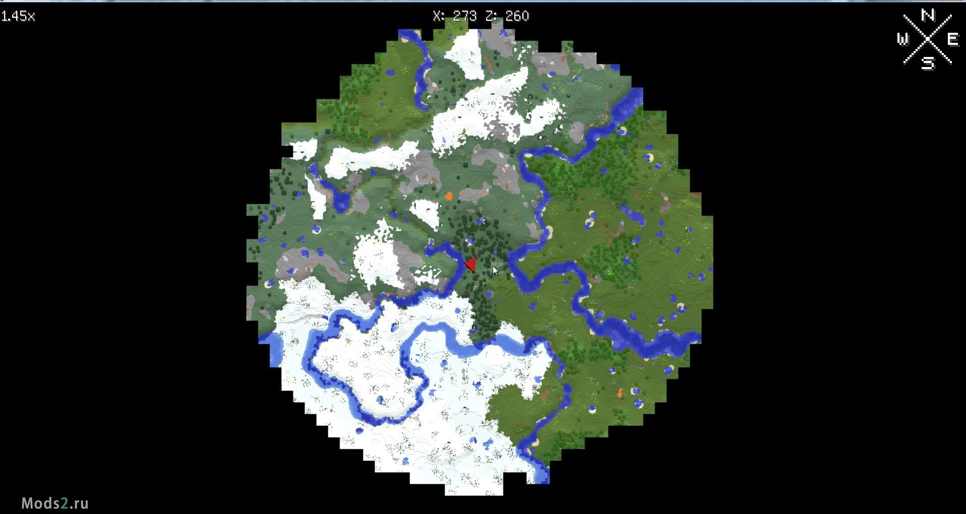 Karta Mira Xaero S World Map 1 13 2 1 12 2 1 11 2 1 10 2 1 8 9 1 7
