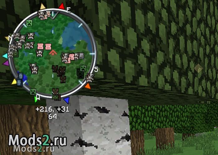 мод на миникарту в майнкрафт 1.12
