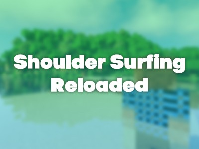Фото Новая камера от 3-его лица - Shoulder Surfing Reloaded [1.14.4] [1.12.2] [1.11.2] [1.10.2] [1.7.10]