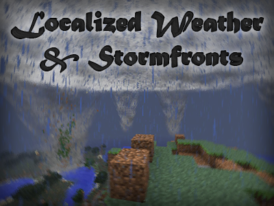 Фото Мод на торнадо - Localized Weather & Stormfronts [1.12.2] [1.11.2] [1.10.2] [1.7.10]