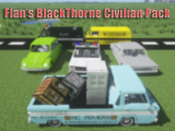 Фото Пак на машины 60-х годов - Flan's BlackThorne Civilian Pack [1.12.2] [1.8.9] [1.7.10]