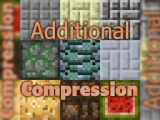 Фото Сжатые блоки - Additional Compression [1.12.2] [1.10.2] [1.7.10]